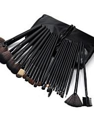 Недорогие -32pcs Кисти для макияжа профессиональный Набор кистей для макияжа Кисть их волоса пони / Синтетические волосы / Лошадь Антибактериальный / Кисть из синтетических волокон