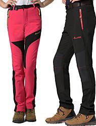 Недорогие -Жен. Штаны для туризма и прогулок На открытом воздухе С защитой от ветра, Дожденепроницаемый, Воздухопроницаемость Спандекс Брюки Катание на лыжах / Рыбалка / Пешеходный туризм / Эластичная