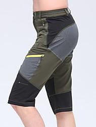 abordables -Hombre Shorts para senderismo Al aire libre Secado rápido, Diseño Anatómico, Listo para vestir Licra Pantalones / Sobrepantalón Pesca