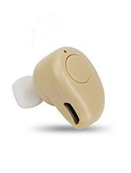 baratos -Fones de Ouvido / Estojo de fone de ouvido Plástico Dourado / Branco / Preto 1 pcs