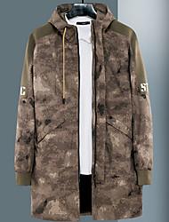 Недорогие -Муж. Пальто Армия - Современный стиль