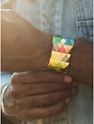 Недорогие -Муж. / Жен. Спортивные часы Китайский Секундомер / Творчество / Новый дизайн Прочее Группа На каждый день / Цветной Черный / Белый / Красный