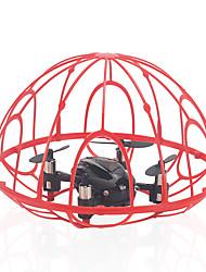 baratos -RC Drone IDEA2 RTF 6 Canais 6 Eixos 2.4G Quadcópero com CR Retorno Com 1 Botão / Modo Espelho Inteligente / Vôo Invertido 360° Quadcóptero RC / Controle Remoto / 1 Cabo USB / Flutuar