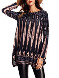 cheap -Women's T-shirt - Geometric Print