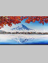 Недорогие -mintura® ручной росписью пейзаж масляной живописи на холсте современной абстрактной картины настенной живописи для домашнего украшения, готовой повесить