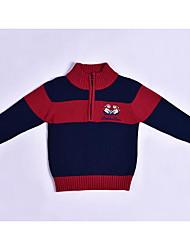 cheap -Kids Boys' Color Block Long Sleeve Sweater & Cardigan