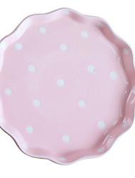 abordables -1 pièce Assiettes Vaisselle Porcelaine Créatif Résistant à la chaleur
