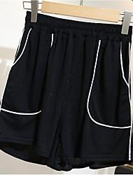abordables -Mujer Delgado Pantalones de Deporte Pantalones - Bloques / Noche