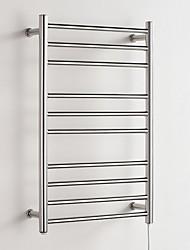 abordables -Barre porte-serviette Design nouveau / Cool Moderne Acier inoxydable / fer 1pc Sèche-serviette Montage mural