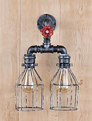 Недорогие -Новый дизайн Античный Настенные светильники Гостиная Металл настенный светильник 220-240Вольт 40 W