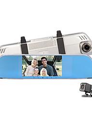 abordables -Factory OEM 720p HD / Vision nocturne DVR de voiture 140 Degrés Grand angle 12 MP 4.3 pouce IPS Dash Cam avec Enregistrement en Boucle / Enregistrement du cycle en boucle Enregistreur de voiture