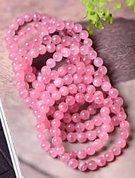 cheap -Women's Beads Strand Bracelet - Creative, Ball Simple, Romantic, Sweet Bracelet Pink For Daily / Date