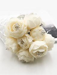cheap -Artificial Flowers 1 Branch Classic Wedding / Wedding Flowers Camellia Tabletop Flower