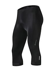 preiswerte -Nuckily Herrn Gepolsterte Fahrradshorts Fahhrad Gepolsterte Shorts / Unten Solide Polyester, Elasthan Schwarz Fahrradbekleidung