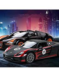 baratos -Carro com CR Rastar 74260 4CH 27MHz Carro 1:14 8.2 km/h KM / H Controle Remoto / Luminoso