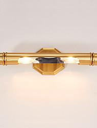 Недорогие -Простой / Ретро Настенные светильники Ванная комната / В помещении Металл настенный светильник IP41 220-240Вольт 40 W