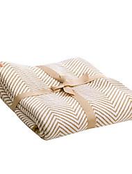 Недорогие -Супер мягкий, Активный краситель Полоски Хлопок одеяла