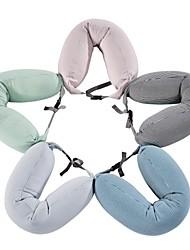 Недорогие -Комфортное качество Запоминающие форму подушки для шеи Портативные / удобный подушка Губка / Микрофибра Хлопок