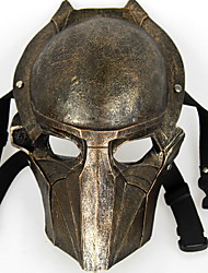 cheap -Holiday Decorations Halloween Decorations Halloween Masks Party / Cool Gold 1pc
