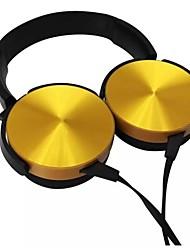 abordables -COOLHILLS TH-100 Cinta Cable Auriculares Auricular El plastico / Carcasa de metal Teléfono Móvil Auricular Mini / Nuevo diseño / Estéreo Auriculares