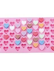 Недорогие -Инструменты для выпечки Силиконовый гель 3D / Своими руками Торты / Шоколад / Для мороженого Круглый Формы для пирожных 1шт