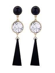 cheap -Women's White Turquoise Twisted / Fancy Drop Earrings - Fashion, Cute, Mariner Gold For Party / Evening / Daily