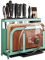 Недорогие -Кухонная организация Полки и держатели / Кухонные принадлежности / Столовые приборы Металл Новый дизайн / Аксессуар для хранения / Творческая кухня Гаджет 1 комплект