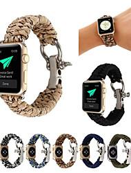 economico -Cinturino per orologio  per Apple Watch Series 4/3/2/1 Apple Cinturino sportivo Nylon Custodia con cinturino a strappo