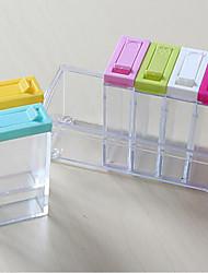 Недорогие -Кухонная организация Приправы ПП (полипропилен) Аксессуар для хранения 1 комплект