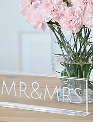Недорогие -Комбинированные Acryic / полиэстер Свадебные украшения Свадебные прием Свадьба Все сезоны