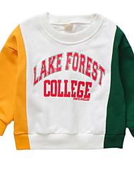 cheap -Baby Girls' Color Block Long Sleeve Hoodie & Sweatshirt
