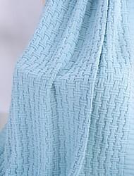 Недорогие -Супер мягкий, Активный краситель Однотонный 100% акрил одеяла