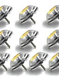 Недорогие -1.5w g4 ufo зонтик формы downlight водить g4 cob миниая кукуруза dc 12v теплый холодный белый (10 ПК)