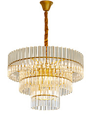cheap -LWD Cylinder / Empire Chandelier Adjustable, New Design, 110-120V / 220-240V Bulb Not Included