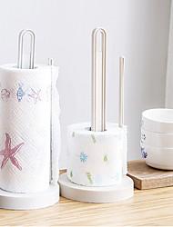 Недорогие -Кухонная организация Полки и держатели Пластик Новый дизайн / Творческая кухня Гаджет / Прост в применении 1шт