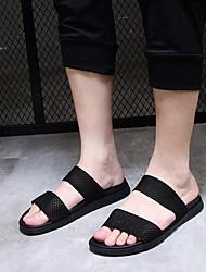 billige -Herre Sko Net Sommer Komfort Sandaler Sort