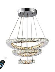 Недорогие -UMEI™ Круглый / Кристаллы / Геометрический принт Люстры и лампы Рассеянное освещение - Регулируется, Диммируемая, Новый дизайн, 110-120Вольт / 220-240Вольт,