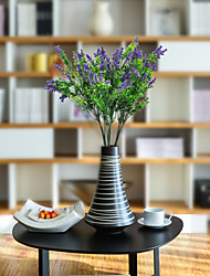 cheap -Artificial Flowers 1 Branch Classic Rustic / Pastoral Style Plants / Lavender Tabletop Flower