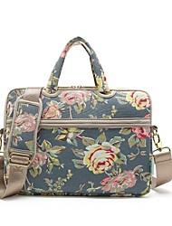 """cheap -Canvas Pattern / Flower Shoulder Bag / Handbags 13"""" Laptop / 14"""" Laptop / 15"""" Laptop"""