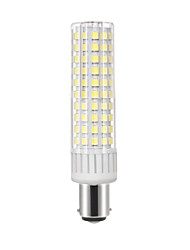 abordables -1pc 8.5 W 1105 lm BA15D Ampoules Maïs LED T 125 Perles LED SMD 2835 Blanc Chaud / Blanc Froid 85-265 V