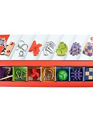 Недорогие -Взаимосоединяющиеся блоки Для школы Взаимодействие родителей и детей Азия Классика Старинный Классика 1 pcs Куски Мальчики Девочки Взрослые Игрушки Подарок