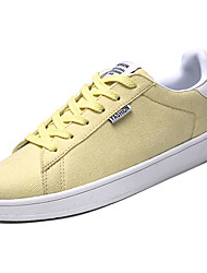 cheap -Men's Canvas Fall Comfort Sneakers Yellow / Green / Blue