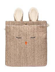 cheap -Women's Bags Linen Mobile Phone Bag Buttons Black / Beige / Brown