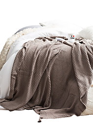 Недорогие -Супер мягкий, Активный краситель В точечку / Гусиная лапка Хлопок одеяла