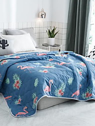 cheap -Comfortable - 1pc Bedspread Summer Polyester Geometric