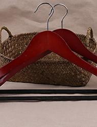 abordables -En bois Multifonction Pantalons / Vêtement Cintre, 1pc