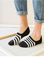 billige Undertøy og sokker til herrer-Herre Sokker - Stripet Normal