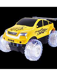 baratos -Carro com CR LIANGDIANZHJIXING 6 Canais Infravermelho Jipe (Fora de Estrada) / Stunt Car / Drift Car 1:24 20 km/h KM / H Música / Lâmpadas Multi-sombra / Luminoso