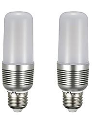 preiswerte -2pcs 12 W 1100 lm E26 / E27 LED Mais-Birnen T 43 LED-Perlen SMD 5730 Neues Design Warmes Weiß / Weiß 85-265 V
