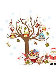 economico -Adesivi decorativi da parete - Holiday Wall Stickers / Adesivi murali persone Natale / Vacanze Stanza per bambini / Camera dei bambini